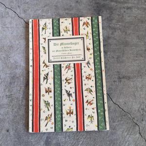 インゼル文庫Nr.450「DIE MINNESINGER」