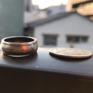coin ring    (ピアストル)  エジプト通貨