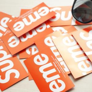 Supreme     Shop card
