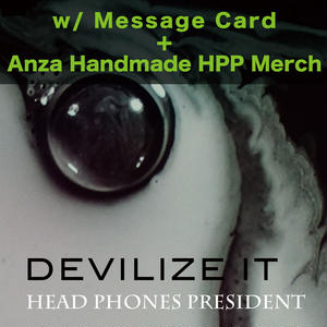 DEVILIZE IT <2CD + Photo Book> with Message Card & Anza Handmade HPP Merchandise