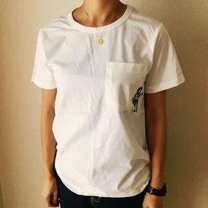 タトゥー刺繍Tシャツ Tatoo.