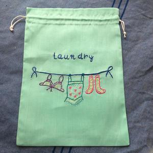 Laundry 巾着M