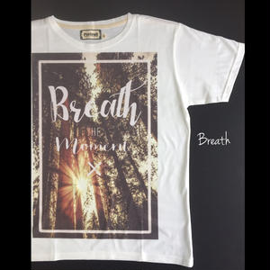 Breath. メンズTシャツ