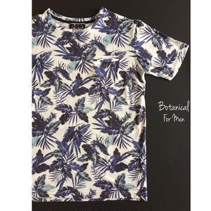 ボタニカル メンズTシャツ Botanical - B