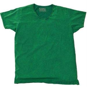 ヴィンテージウォッシュ Tシャツ  - Green.