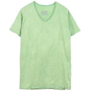 ヴィンテージウォッシュ Tシャツ - Lime.