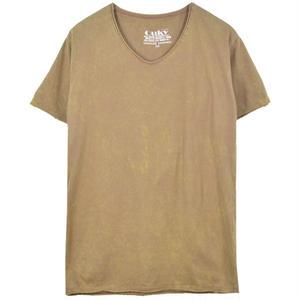 ヴィンテージウォッシュ Tシャツ  - Camel.