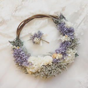 wreath bouquet * lavender *