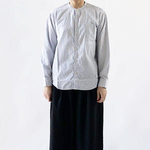 BAND COLLAR SHIRTS  CHECKERED CLOTH(バンドカラーシャツ チェック柄)  A31902