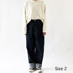 CLASSICAL DENIM PANTS LOOSE TAPERED (クラシカルデニム ルーズテーパード)  A21801