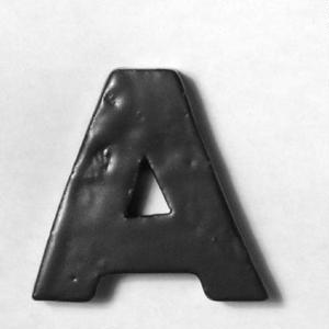 ALPHABET TILE A