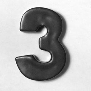 NUMBER TILE  3