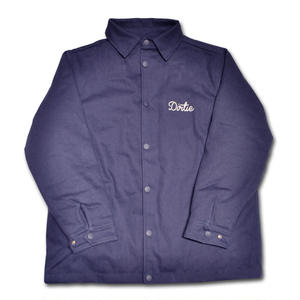 HARDEE COINS WORK JACKET NAVY