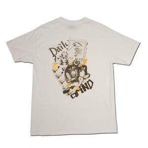 HARDEE DAILY GRIND POCKET T-SHIRT WHITE