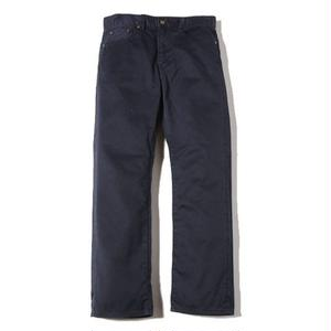 CUT RATE 5 POCKET SLIM CHINO PANTS NAVY CR-16AW022
