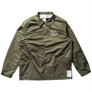 BORN X RAISED THE TOWN COACH JACKET GREEN NO.35003