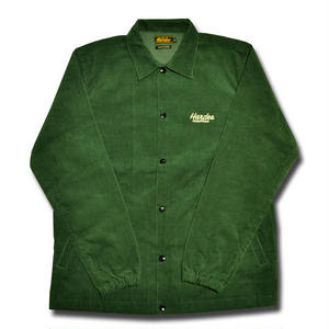 HARDEE CORDUROY COACH JACKET GREEN