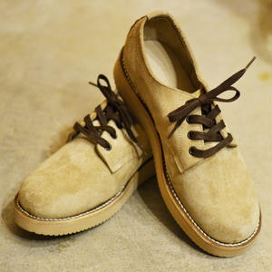 OXFORD PLAIN BOOTS TAN[111-03]