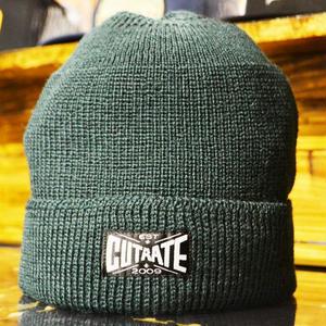 WOOL KINT CAP GREEN