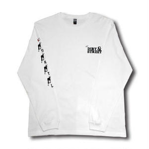 FULL THROTTLE L/S TEE WHITE[MADFULL01]