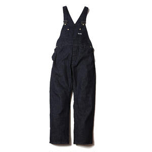 CUT RATE DENIM DENIM HERRINGBONE OVERALL  INDIGOBLUE  CR-17SS061