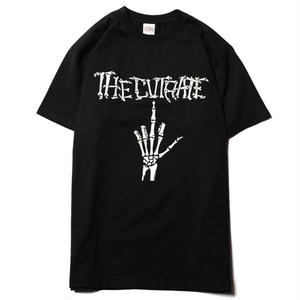 CUTRATE  BONE FINGER T-SHIRT BLACK CR18SS047