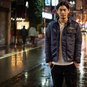 HIGH TIME NYLON DECK JACKET NAVY[#7510]