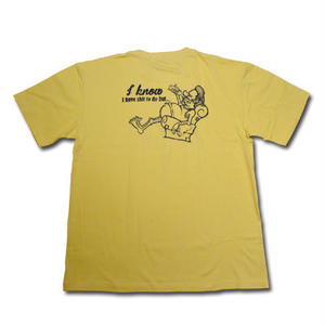 HARDEE DAY OFF T-SHIRT MUSTARD