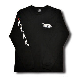 FULL THROTTLE L/S TEE BLACK[MADFULL02]
