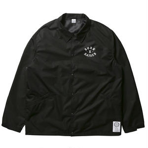 BORN X RAISED  PHIL JACKSON COACHES JACKET BLACK #33001