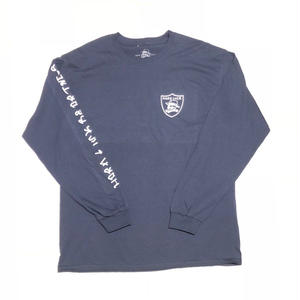 HARD LUCK SIX L/S TEE  NAVY