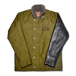HARDEE RIDE DECK JACKET OLIVE