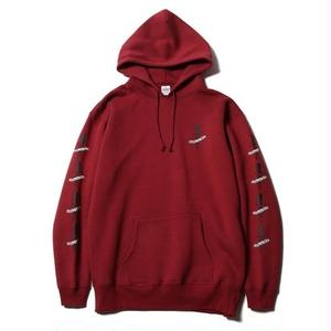 CUTRATE PULLOVER PARKA BURGUNDY CR-17SS018
