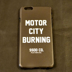 MOTOR CITY BURNING I PHONE CASE[#7411]