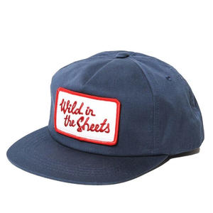 CUT RATE WILD IN THE SHEETS WAPPEN CAP NAVY CR-18SS034