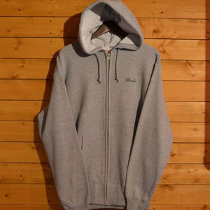 HEAVENS LOCOS ZIP HOOD GRAY[MAD]