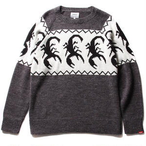 FUCT SSDD SCORPION CREW NECK SWEATER GRAY #41001