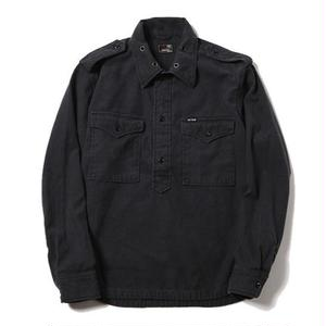 CUTRATE L/S PULLOVER SHIRT BLACK CR-16ST055