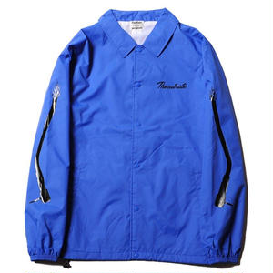 CUT RATE NYLON COACH JACKET BLUE CR-18SS001