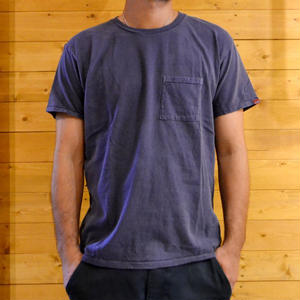 2PACK CREW NECK POCKET TEE P.NAVY[#7605]