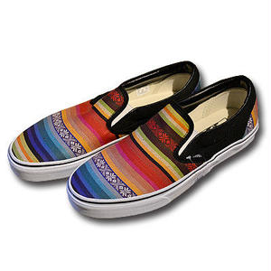 VANS CLASSIC SLIP-ON BAJA MULTI/BLACK VN0003Z4INU