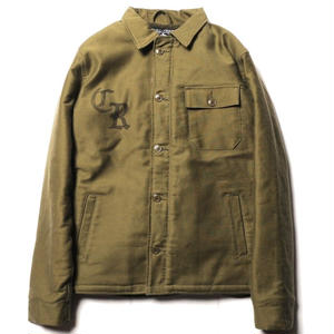 CUT RATE A-2 DECK JACKET OLIVE CR-17AW055