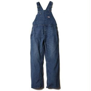 CUT RATE DENIM HERRINGBONE OVERALL USEDINDIGO CR-16ST052