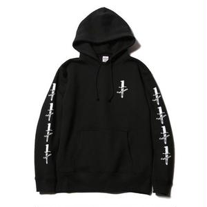 CUTRATE PULLOVER PARKA BLACK CR-17SS018