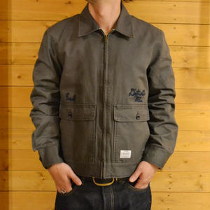 SMITH UTILITY JACKET GRAY[#7527]