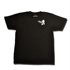 HARDEE BETWEEN US T-SHIRT BLACK