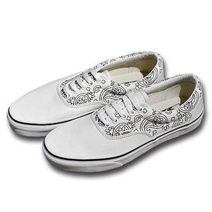 VANS ERA BANDANA STITCH WHITE/BLACK VN00018FI9T
