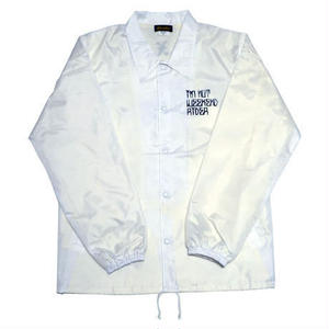 HARDEE GET A KEY COACH JACKET WHITE