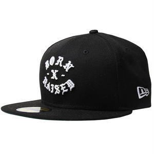 BORN X RAISED NEW ERA FITTED ROCKER