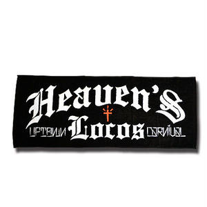 HEAVEN'S LOCOS TOWEL BLACK